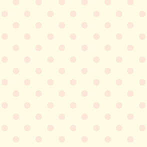 Polka Dot Peaches and Cream
