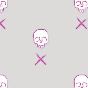 Skull & Cross