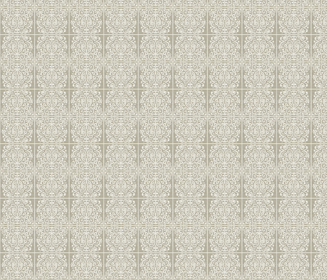 White_&_Silver_grey fabric by gothiccolour on Spoonflower - custom fabric