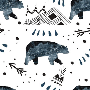 Little Bear/Arrows/Mountains/Blue