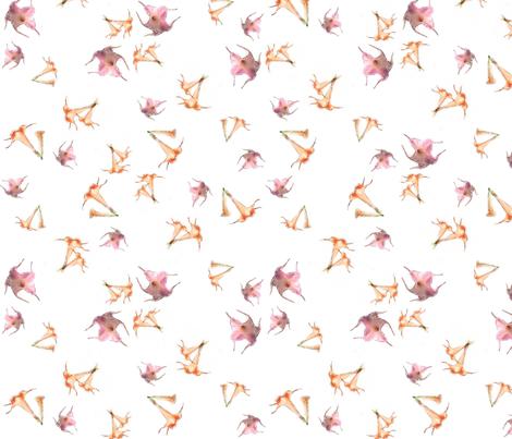 Lotus Peach fabric by desertattitude on Spoonflower - custom fabric