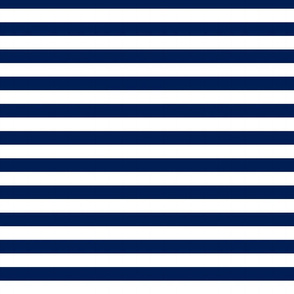 Navy Horizontal Stripes