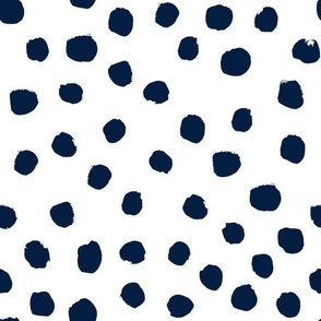 navy blue dots painted dot dots fabric navy dot fabric navy dots fabric