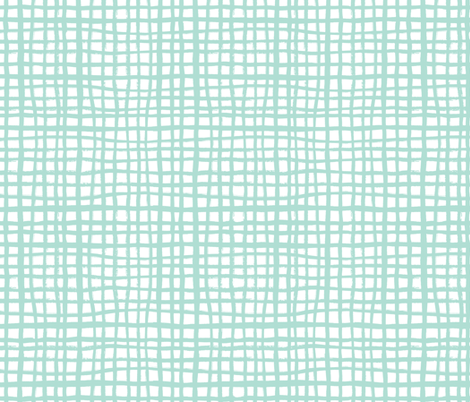 grid fabric mint grid fabric nursery baby grid design coordinate fabrics for kids rooms home decor fabric by charlottewinter on Spoonflower - custom fabric