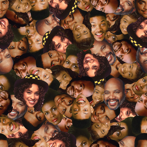 Prince of a Town Called Bel-Air fabric by elliottdesignfactory on Spoonflower - custom fabric