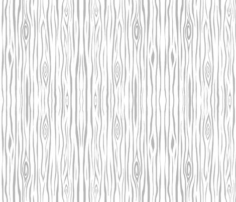 Woodgrain- small- grey/white - tree bark wood fabric by sugarpinedesign on Spoonflower - custom fabric