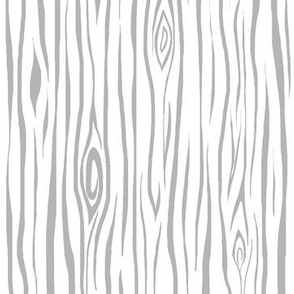 Woodgrain- small- grey/white - tree bark wood