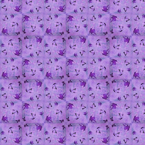 Lotus Purples