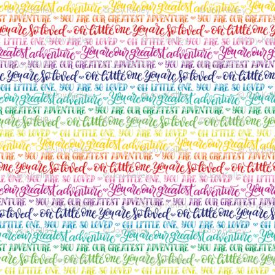 Our greatest adventure - Rainbow