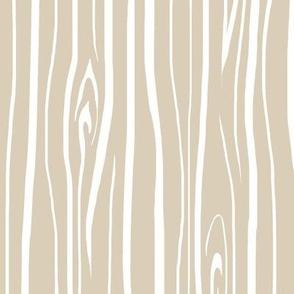Woodgrain - Light Tan - Midnight Woodland
