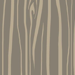 Woodgrain - taupe/tan - midnight woodland - brown