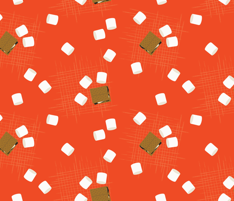 Gimme Smore fabric by laine_and_leo on Spoonflower - custom fabric