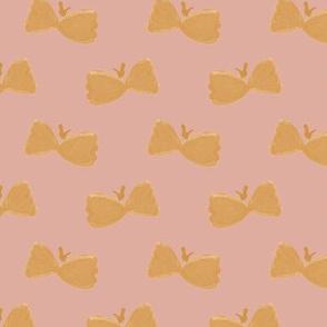 Bowtie Butterflies on #dfada0