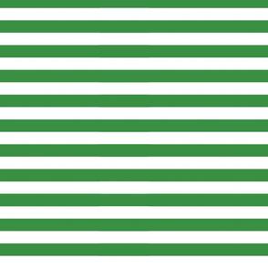 Green Horizontal Stripes