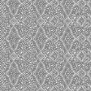 Gray Tribal Dot