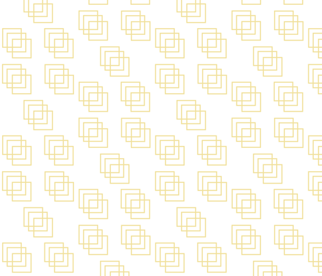 reservedonly gold block scattered fabric by reservedonlyshop on Spoonflower - custom fabric
