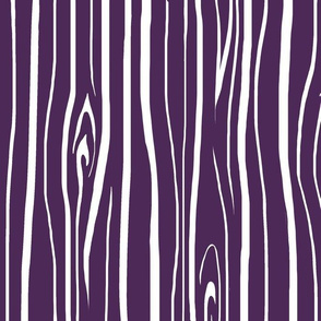 Woodgrain - dark purple/  white - Moonshade