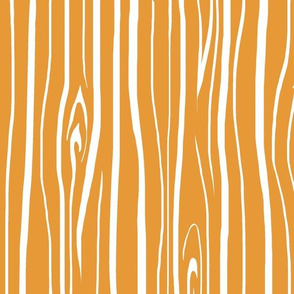 Woodgrain- Tangerine Orange - Wood - Tree Bark