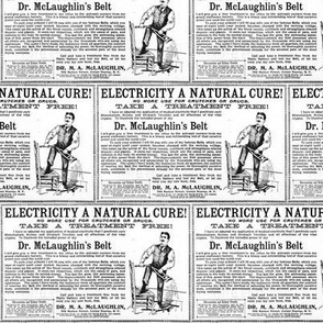 Electric Belt Cures All advertisement