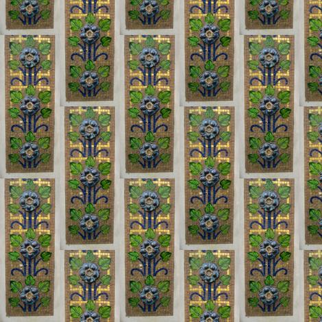 Paris Art Nouveau 2 fabric by shaunaroberts on Spoonflower - custom fabric