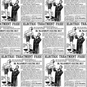 The Electric Belt Cure advertisement