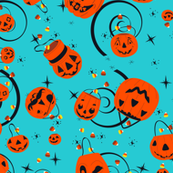 Halloween Magic-Turquoise