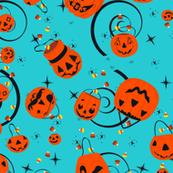 Halloween Magic-Turquoise