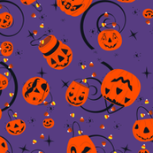 Halloween Magic-Purple