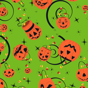 Halloween Magic-Green