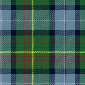 California official state tartan - lighter blues