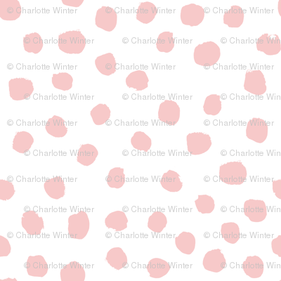 pink fabric pink dots fabric cute pink nursery baby girl fabric
