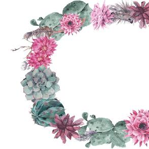 Succulent / Cactus Wreath