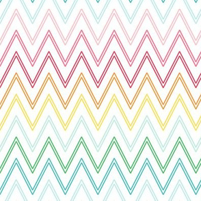 chevron :: colorful christmas