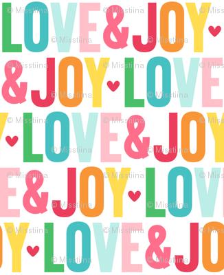 love joy LG :: colorful christmas