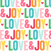 love joy LG :: colorful christmas