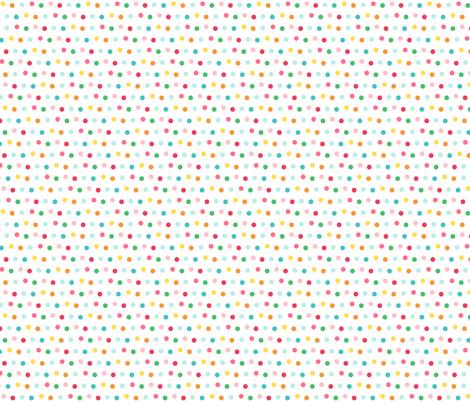 polka LG :: colorful christmas fabric by misstiina on Spoonflower - custom fabric