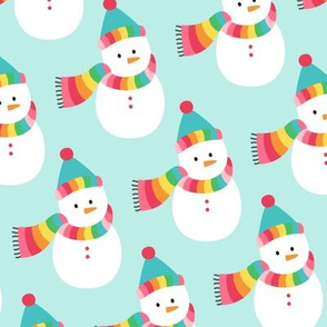 snowmen LG :: colorful christmas