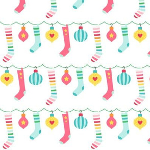 stockings :: colorful christmas