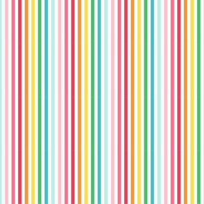 stripes horizontal :: colorful christmas