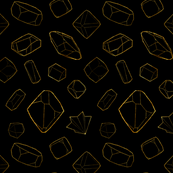 Gems: Black and Gold