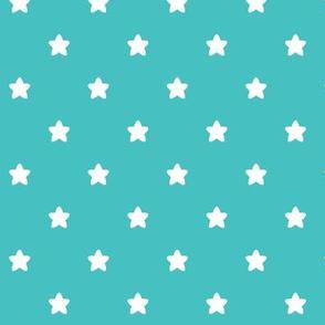 stars teal LG