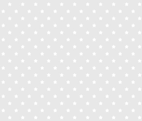 stars grey LG fabric by misstiina on Spoonflower - custom fabric