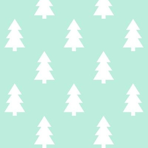 trees mint green LG