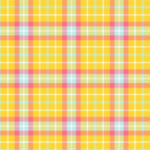 happy plaid no.15