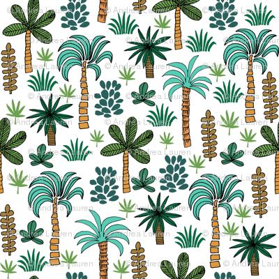palms // palm tree tropical palm print andrea lauren fabric palms fabric palm tree fabric palms fabric palm print