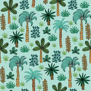 palms tree // palms fabric palm tree fabric tropical fabric andrea lauren fabric andrea lauren design palms design