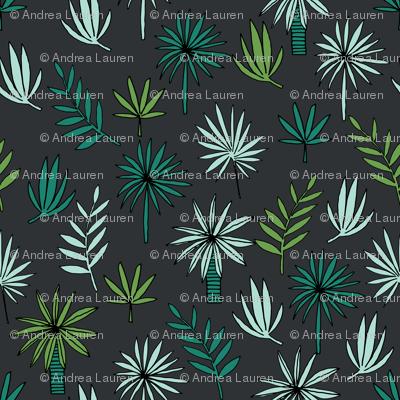 palm tree // palms palm tree print tropical fabric tropical print palms palm frond design andrea lauren andrea lauren fabric
