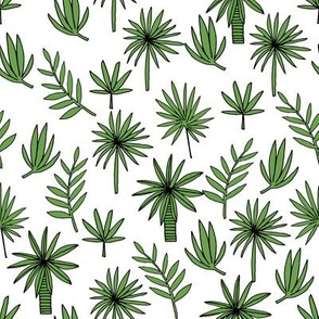 palm tree //  palm trees fabric palms print andrea lauren design andrea lauren fabric palms fabric plants fabric