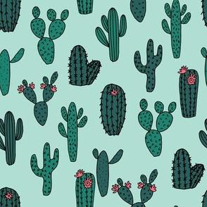 cactus // cacti succulents plants kids cute cactus tropical fabric