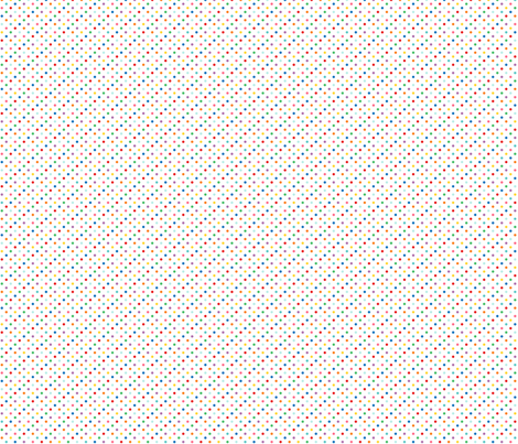 tiny rainbow polkas fabric by misstiina on Spoonflower - custom fabric